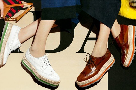 Prada Creeper Brogues via mystylistsays.com