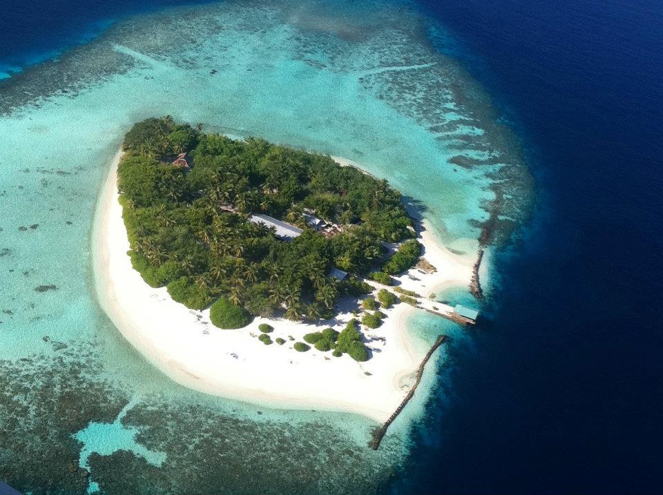 Eine der Inseln von oben