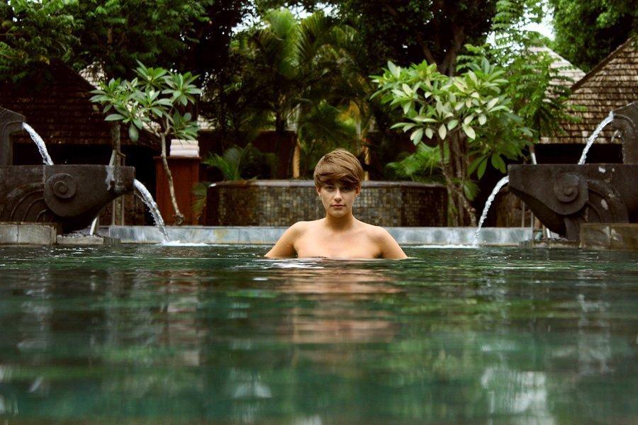 Shanti Maurice Infinity Pool