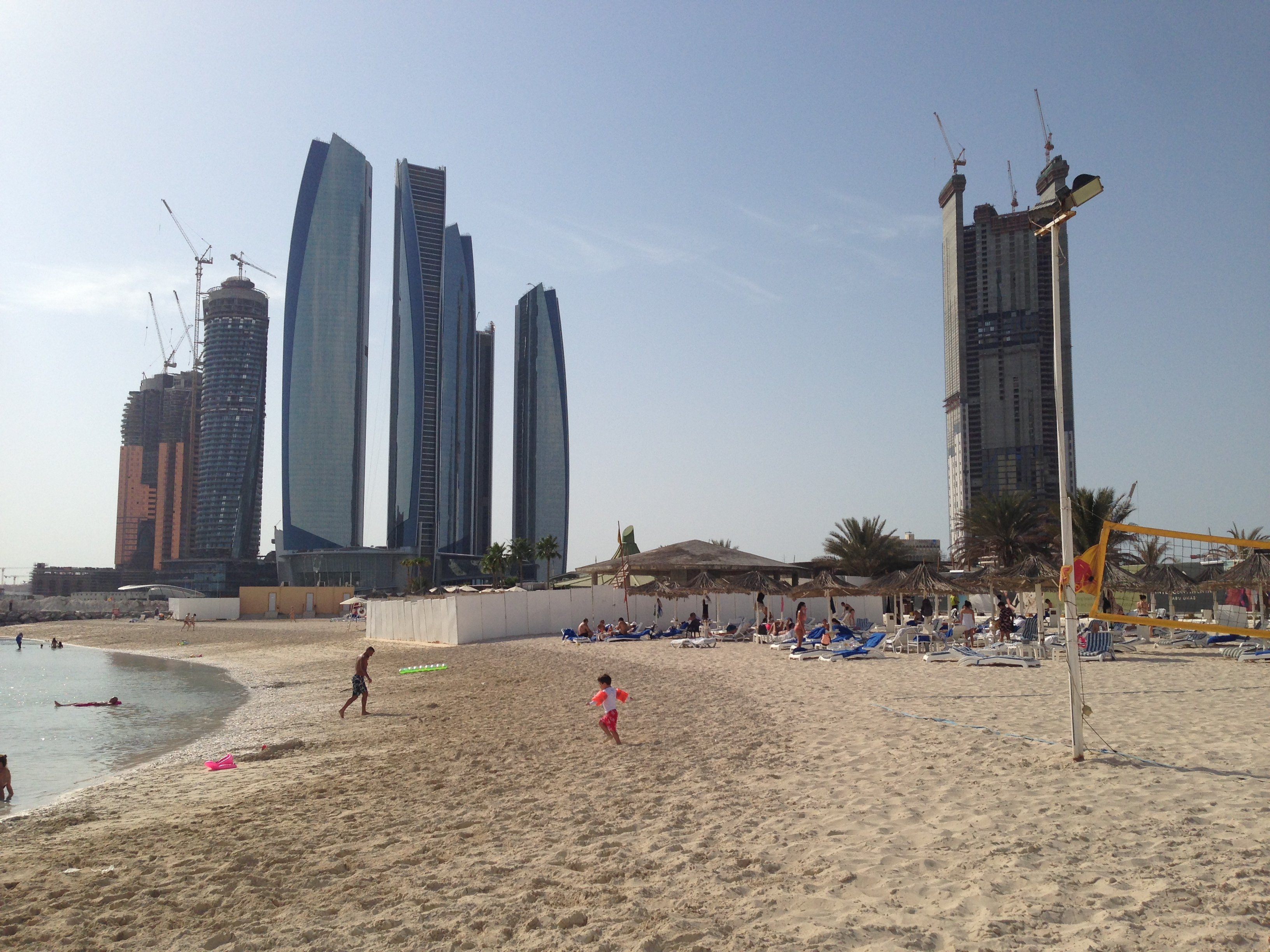 Ewige Baustelle: Abu Dhabi