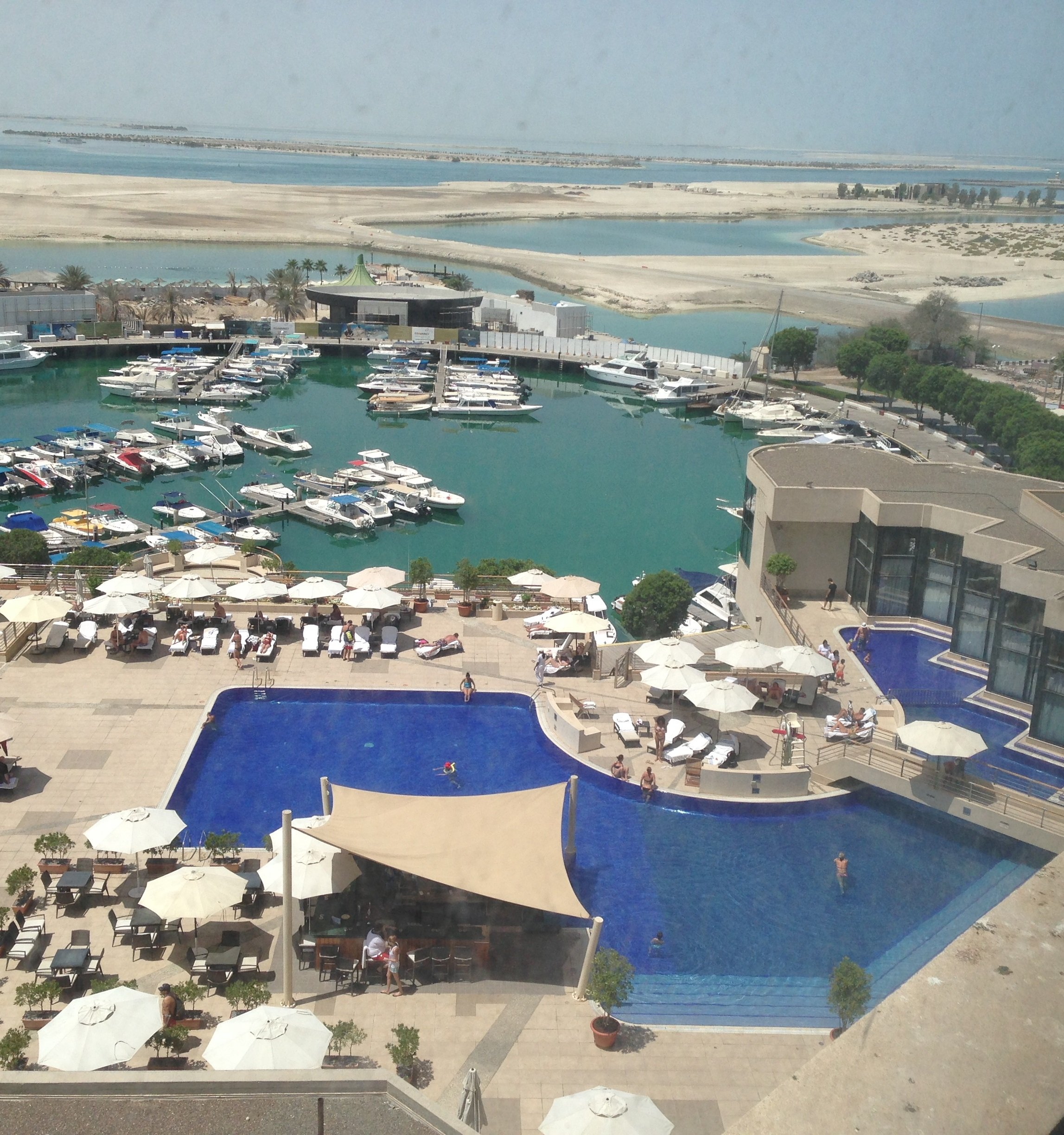 Room with a view: Abu Dhabi