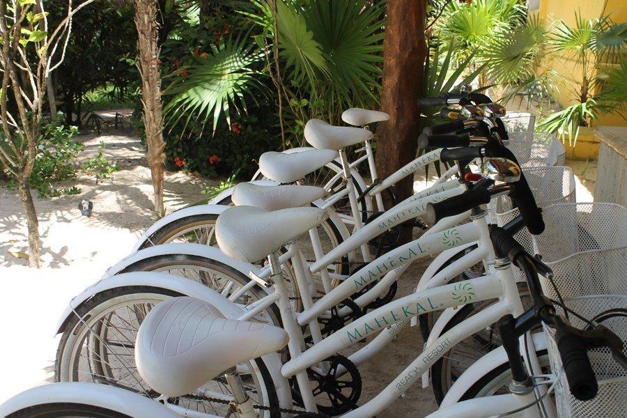 Räder mieten geht natürlich auch! Mahekal Beach Resort