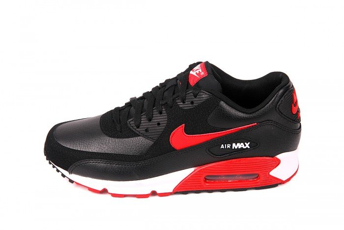 Nike Air Max 90 Black And Red And White