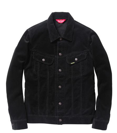 Supreme Corduroy Snap Front Jacket