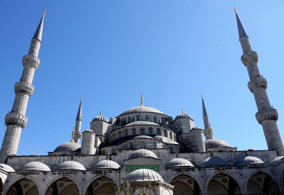 Blaue Moschee außen
