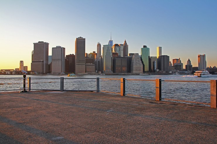 Brooklyn Bridge Park Panorama
