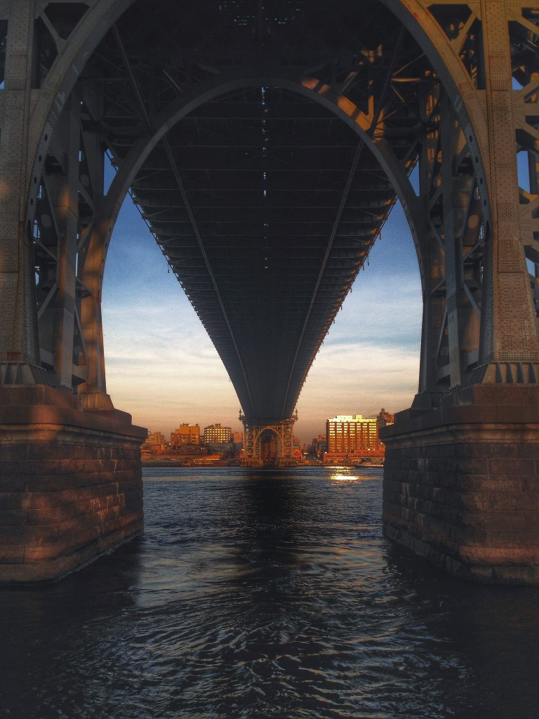 Flos New York Diary: Part VI Manhattan Williamsburg Bridge