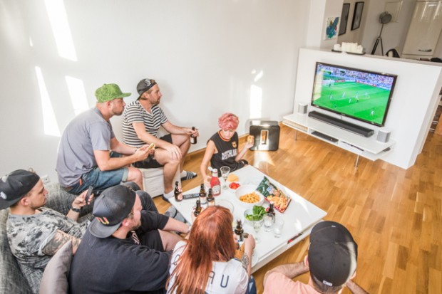 WM 2014 mit Sonos im uberding  Heimkino