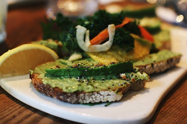 Le Pain Quotidien Avocado Sandwich
