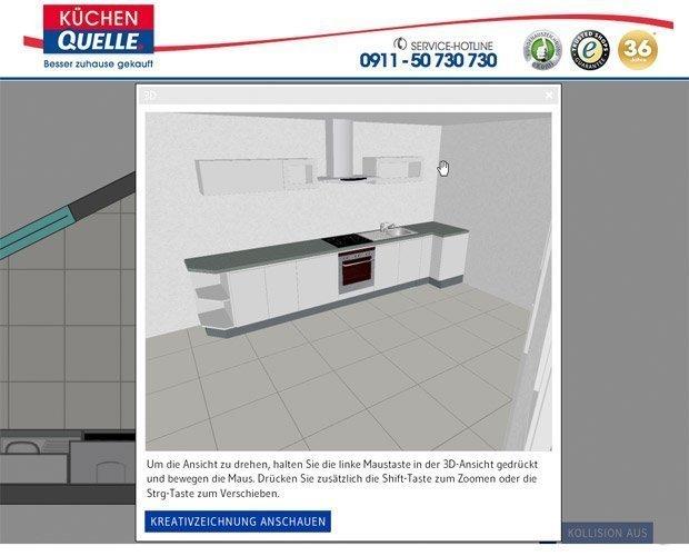 Do it yourself Küchenplanung mit Küchen Quelle!