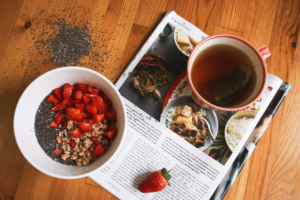 Breakfast Chia Samen Alnature Tee
