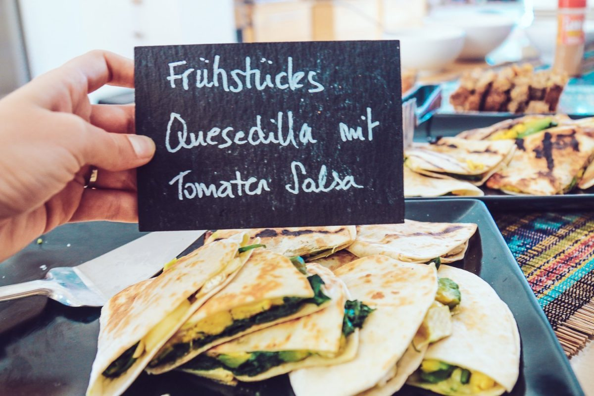 Frühstücks Quesedillas